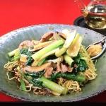 NHKきょうの料理は栗原はるみの豚肉と小松菜のあんかけ焼きそばレシピ!