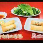 NHKきょうの料理は栗原はるみの2種の春巻きレシピ!