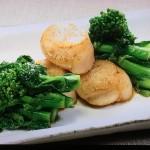 NHKきょうの料理は大原千鶴の菜の花とわかめのごま酢あえ、菜の花と帆立のバター醤油焼きレシピ!