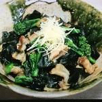 NHKきょうの料理はわかめと豚バラの甘辛炒め、わかめの茶碗蒸しレシピ!村田吉弘