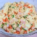 NHKきょうの料理はいりハム豆腐レシピ!杵島直美の7分春野菜おかず