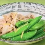 NHKきょうの料理ビギナーズはスナップえんどうと豚肉の煮物、帆立てのしょうが炒めレシピ!