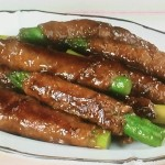 NHKきょうの料理ビギナーズはアスパラガスの牛肉巻き、アスパラとやりいかの黒こしょう炒めレシピ!