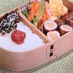 きょうの料理は甘酢しょうがの肉巻き弁当レシピ!万能調味料甘辛じょうゆ飛田和緒