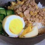NHKきょうの料理は春野菜の台湾風そぼろご飯、あさりとグリンピースのおつゆレシピ!SIORI(しおり)の20分で晩ごはん