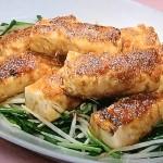 NHKきょうの料理は肉巻き豆腐のしょうが焼き、えのき鶏つくねの柚子こしょう煮レシピ!こばやしまさみ