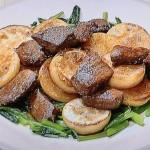NHKきょうの料理は牛肉とかぶのステーキ、大豆とわかめのスペイン風オムレツレシピ!舘野鏡子のボルシーおかず
