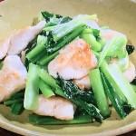 きょうの料理ビギナーズは鶏肉と小松菜の炒め物、鶏肉と野菜の黒酢炒めレシピ!