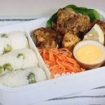 NHKきょうの料理はレモンから揚げと青豆おむすび弁当レシピ!坂田阿希子
