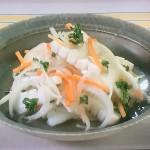 NHKきょうの料理ビギナーズはいかとたまねぎのマリネ、鶏ささ身のマリネレシピ!