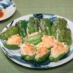 NHKきょうの料理はピーマンのえび肉詰めレシピ!土井善晴の満足おかず