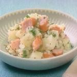 NHKきょうの料理ビギナーズはじゃがいもとソーセージのサラダ、ミックスビーンズサラダ、フレンチドレッシングレシピ!