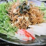NHKきょうの料理はグッチ裕三の揚げそばサラダ、スープ焼きうどんレシピ!