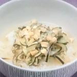 きょうの料理ビギナーズはなすもみの梅肉風味茶漬け、豚バラとレタスのスープごはんレシピ!和食の達人直伝