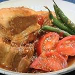 NHKきょうの料理はコウケンテツのトマトと豚バラのとろとろ角煮・なすとえびの黒酢マリネレシピ!
