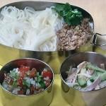 NHKきょうの料理は肉そぼろそうめん弁当・サルサソース・ハムときゅうりのあえ物レシピ!坂田阿希子