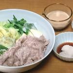 NHKきょうの料理は土井善晴の冷やししゃぶしゃぶ・菊かぼちゃのしょうがそぼろレシピ!