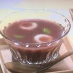 NHKきょうの料理ビギナーズは豆腐入り2色白玉の冷やしるこ・甘納豆入りフルーツかんレシピ!ひんやりスイーツ