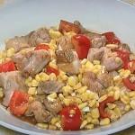 NHKきょうの料理は鶏ととうもろこしのバターソース照り焼きレシピ!市瀬悦子の7分おかず