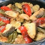 NHKきょうの料理は栗原はるみのフライパンパエリア・きゅうりの甘酢サラダレシピ!定番ごはん