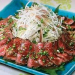 NHKきょうの料理はザミーツまこのフライパン和風ローストビーフサラダレシピ!肉サラダの作り方