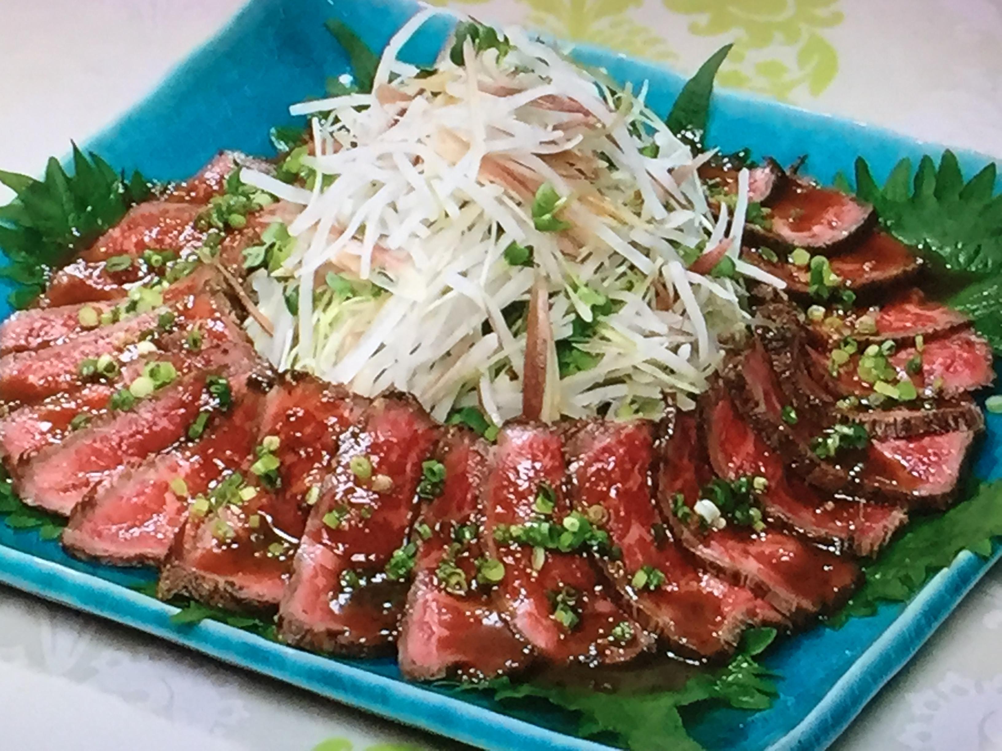 NHKきょうの料理はザミーツまこのフライパン和風ローストビーフ