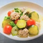 NHKきょうの料理ビギナーズはくしゅくしゅ肉だんごと野菜のスープ煮・豚こまと枝豆、高菜の炒め物レシピ!