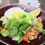 NHKきょうの料理は栗原はるみのガパオライスレシピ!定番ごはん・タイ料理
