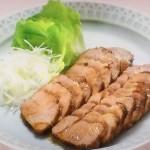 NHKきょうの料理ビギナーズはレンジ焼き豚・塩ゆで豚香味じょうゆ添えレシピ!