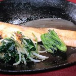 NHKきょうの料理はさけとほうれんそうの香味焼き・きのこと豚バラの磯辺炒めレシピ!田村隆