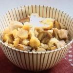 NHKきょうの料理は甘栗と鶏もも肉のおこわ風レシピ!杉本節子の京ごはん