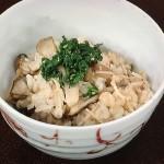 NHKきょうの料理はきのこの炊き込みご飯・マッシュルームのみそ漬けレシピ!中東久人