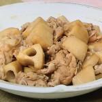 NHKきょうの料理はレンコン人気レシピ3!栗原はるみの豚肉とれんこんの炒め煮・豚れんこん・サクサクれんこんつくね!