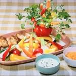 NHKきょうの料理は平野レミの野菜のやさしいディップ2種レシピ!チーズディップ・にんじんディップ