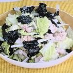 NHKきょうの料理は白菜と豚しゃぶののりサラダレシピ!小林まさみの白菜×豚肉料理