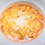 NHKきょうの料理ビギナーズはミネストローネ・豆とパスタのスープレシピ!落合務シェフ