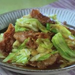 NHKきょうの料理ビギナーズはキャベツと豚肉のみそ炒め・焼きキャベツとベーコンのスープ煮レシピ!