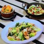 NHKきょうの料理はオニオングラタンスープ・チキンのホットサラダ・グリルで焼きフルーツレシピ!コウケンテツの20分で晩ごはん