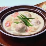 NHKきょうの料理はザミーツのチキンボールのジンジャークリームシチューレシピ!Mako(まこ)の肉グルメ