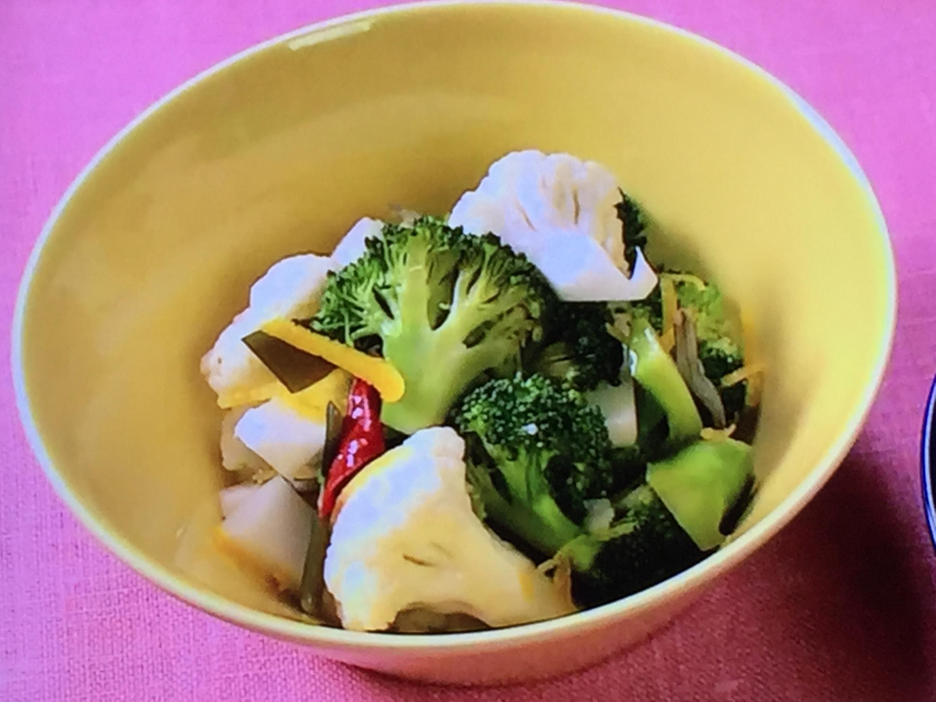 きょうの料理は常備菜レシピ!ブロッコリーとカリフラワー ...
