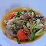 NHKきょうの料理ビギナーズは香味野菜と牛肉のスープ・たっぷり野菜のスープレシピ!