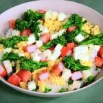 NHKきょうの料理は菜の花のサラダずしレシピ!小林まさみの春の定番料理にひと工夫