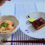 栗原はるみのレンジ五目おこわ・まぐろの照り焼きレシピ!NHKきょうの料理[定番ごはん]