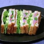 和のサンドイッチ・みそチーズのAEA(アスパラ・えび・アボカド)サンドレシピ!NHKきょうの料理は重信初江