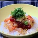 冷凍ごはんで黄身じょうゆの海鮮丼・ひき肉チーズのつゆだくキャベツ丼レシピ!NHKきょうの料理はキッチンブラザーズ