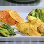 鶏むね肉と春野菜の卵衣焼きレシピ!NHKきょうの料理は渡辺あきこのヘルシー鶏むね肉料理