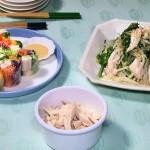 粗ほぐし鶏レシピ!NHKきょうの料理は市瀬悦子のストックチキン・作り置きおかず