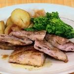 豚薄切り肉のボリュームステーキ・サカナの昆布じめいろいろダレレシピ!NHKきょうの料理は白井操のパワフルごはん
