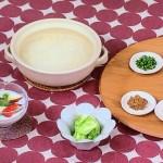 中国風朝がゆ・特製フルーツヨーグルト・春キャベツの塩もみレシピ!NHKきょうの料理は程一彦のパワフルごはん