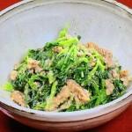 谷原章介のタイムレスキッチンはクレソンのくるみあえ・ふきのとうのしょうゆ漬けレシピ!NHKきょうの料理